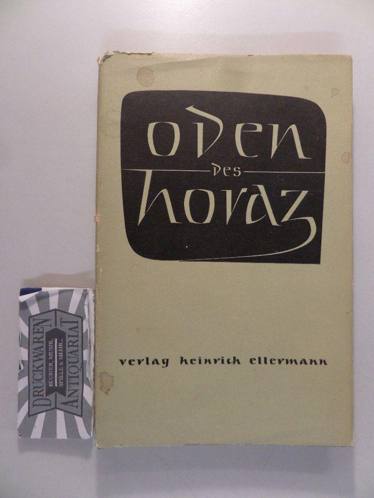 Freut euch des Tags : Nachdichtungen von Oden d. Horaz.