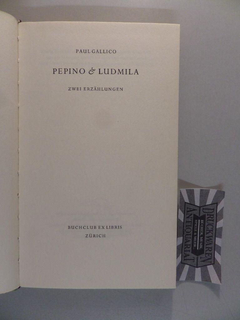 Pepino & Ludmilla. Zwei Erzählungen.
