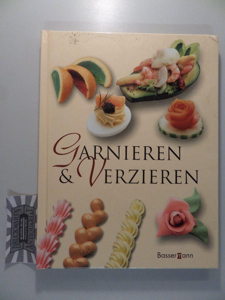 Garnieren und Verzieren.
