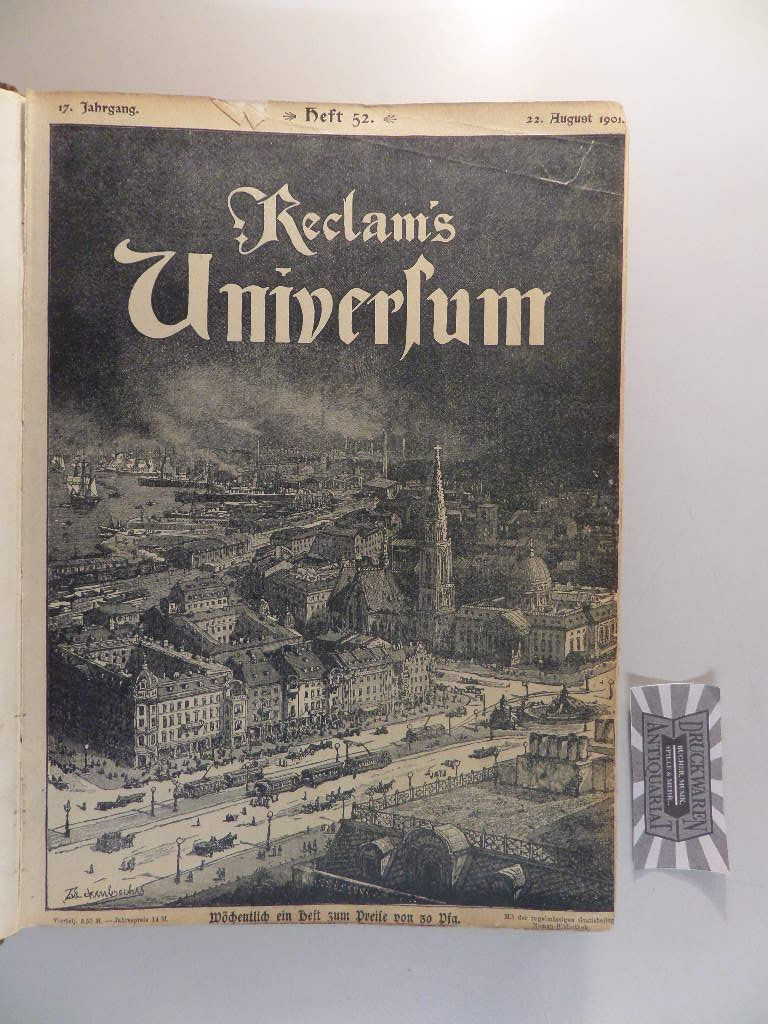 Reclams Universum. Illustrierte Wochenschrift. Jahrgang 17., Heft 52.