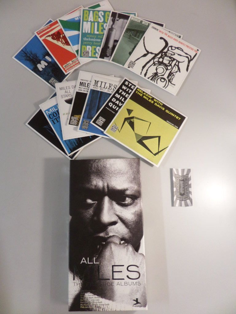Davis, Miles: All Miles : The Prestige Albums [Box-Set mit 14 Audio-CDs, 0600753217566].