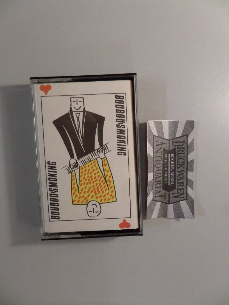 Boubou-Smoking [Tonkassette, MC, Tago Mago 4757]. Limited Edition.