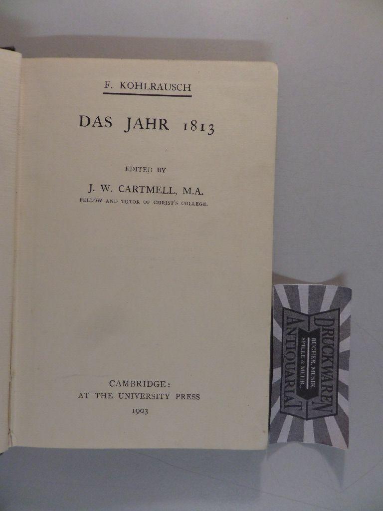 Das Jahr 1813.