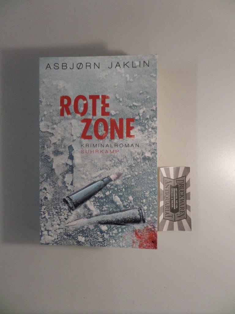 Jaklin, Asjorn: Rote Zone. 1. Auflage.