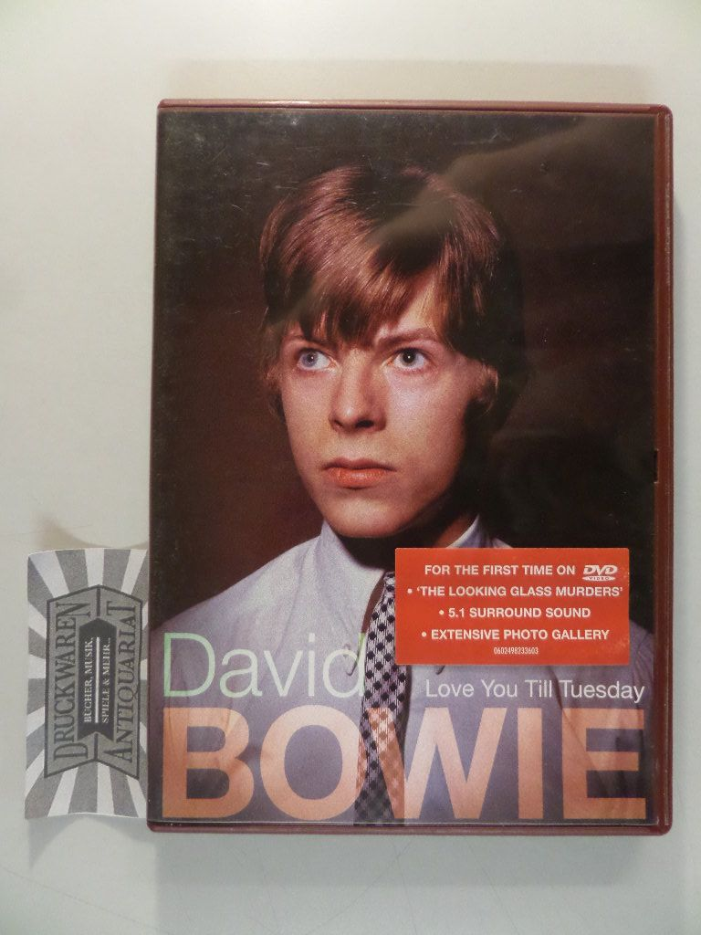 David Bowie - Love You till Tuesday [DVD].