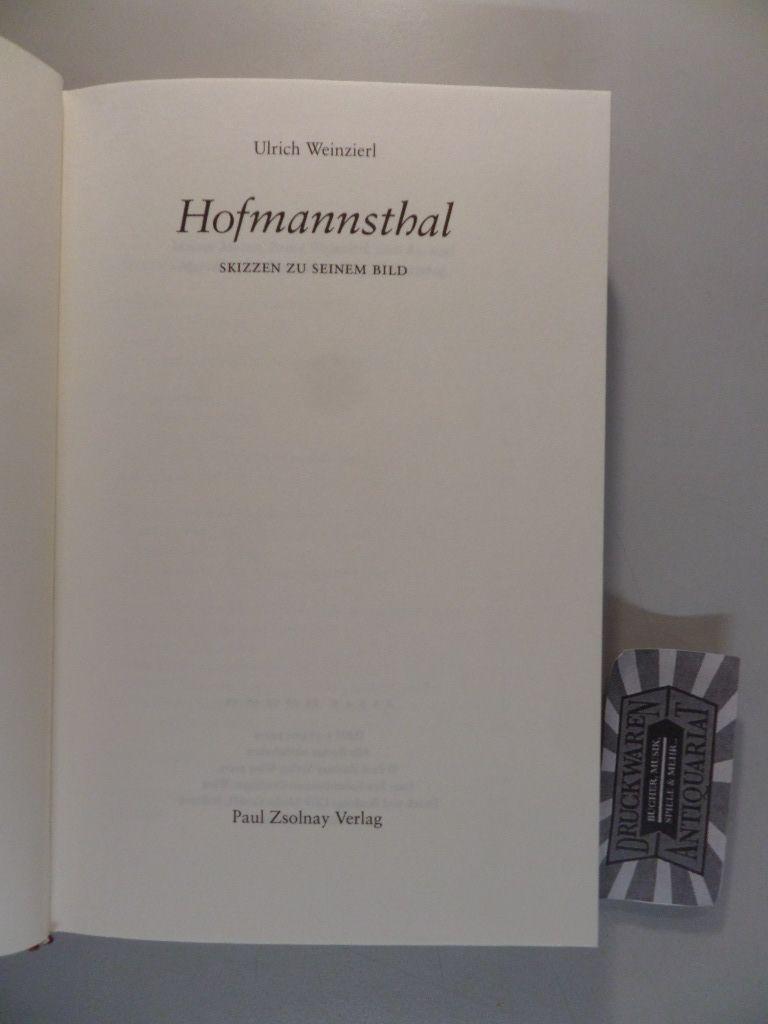 Hofmannsthal - Skizzen zu seinem Bild.