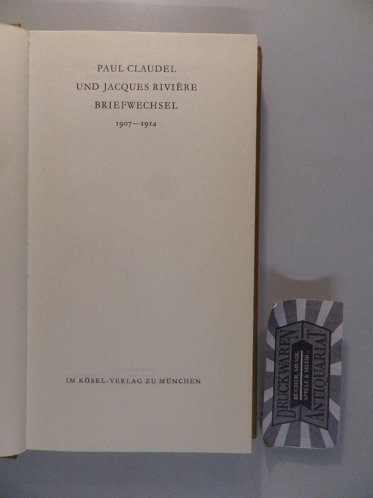 Briefwechsel 1907-1914. 2. Aufl.