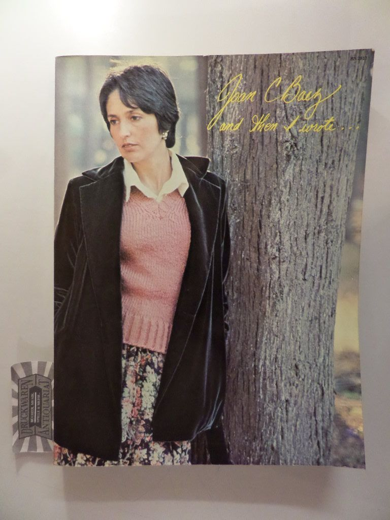 Joan Baez - And then I wrote...