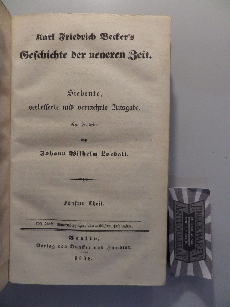 Karl Friedrich Becker