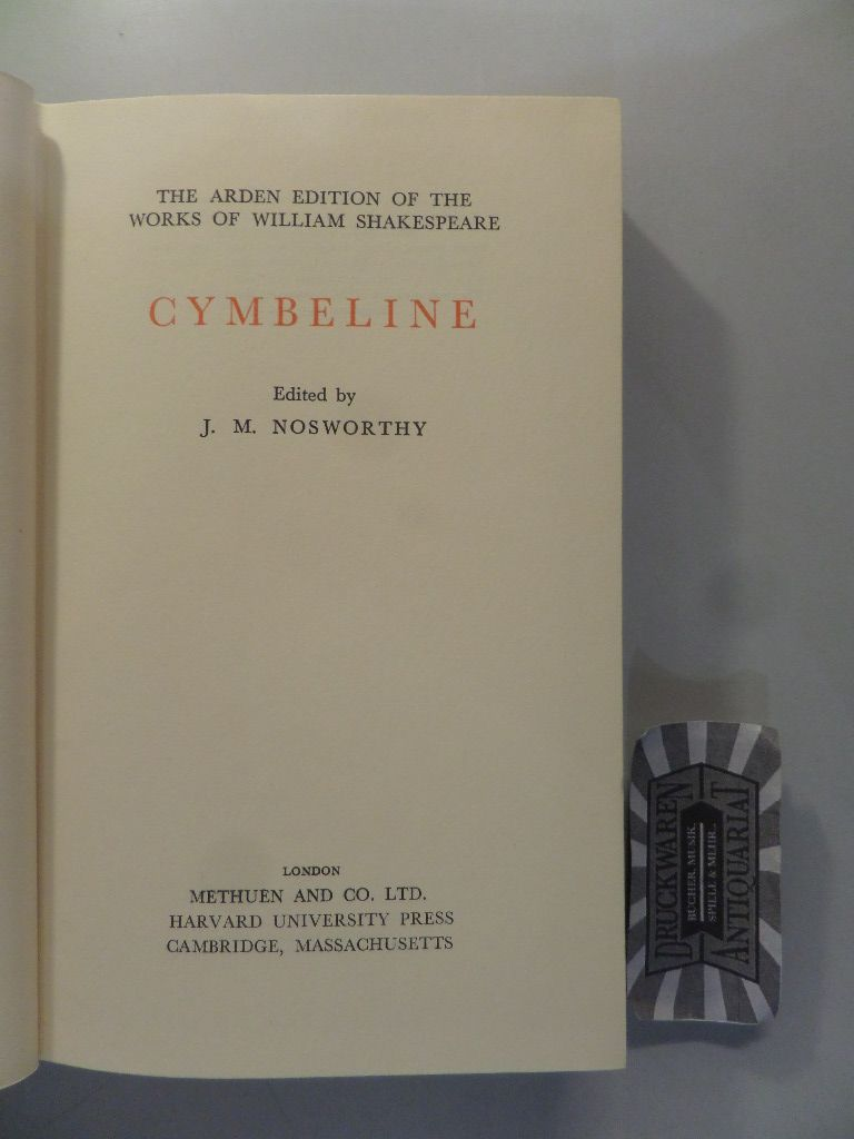 The Arden Edition of the Works og William Shakespeare: Cymbeline.