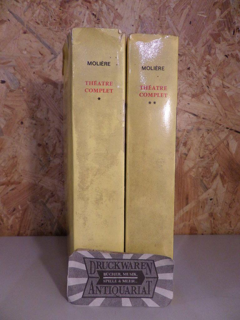 Théatre complet de molière. Tome Premier und Tome Deuxième. [2 Bände, komplett].