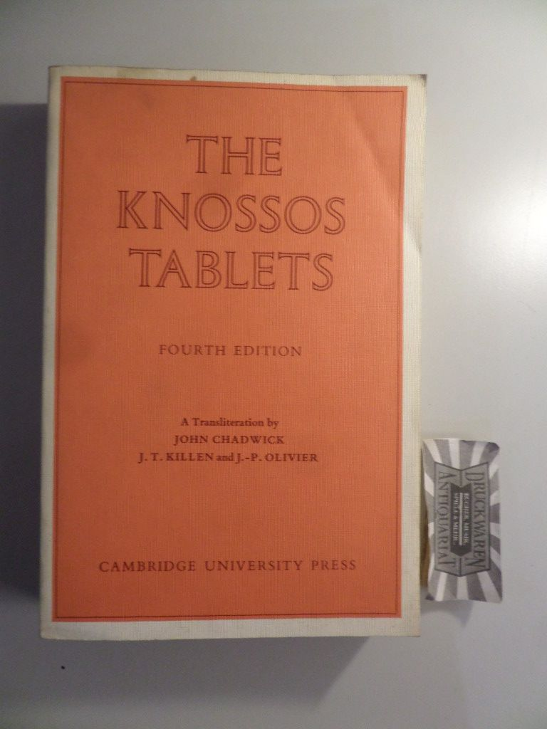 The Knossos Tablets. Fourth Edition.