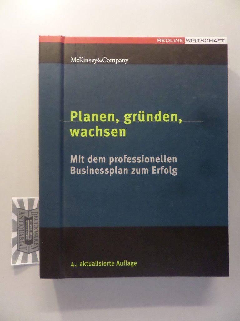 Planen, gründen, wachsen - Mit dem professionellen Businessplan zum Erfolg. 4., aktualisierte Aufl.