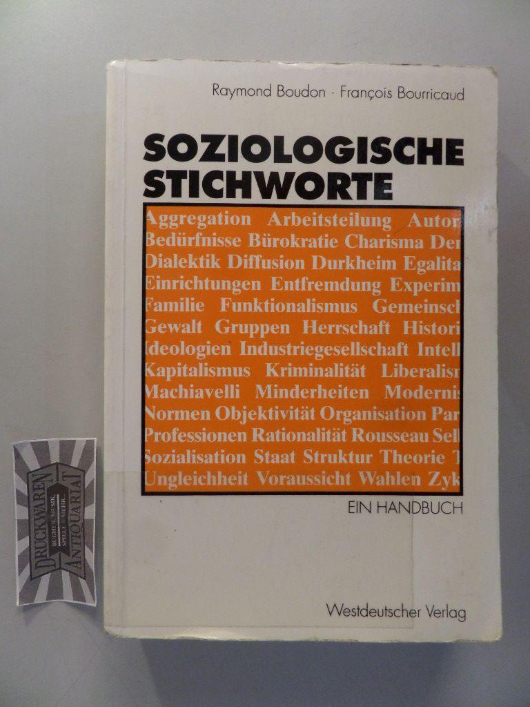Soziologische Stichworte : ein Handbuch.