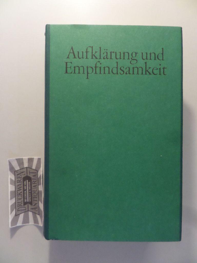 Aufklärung und Empfindsamkeit - Deutsche Literatur im 18. Jahrhundert.