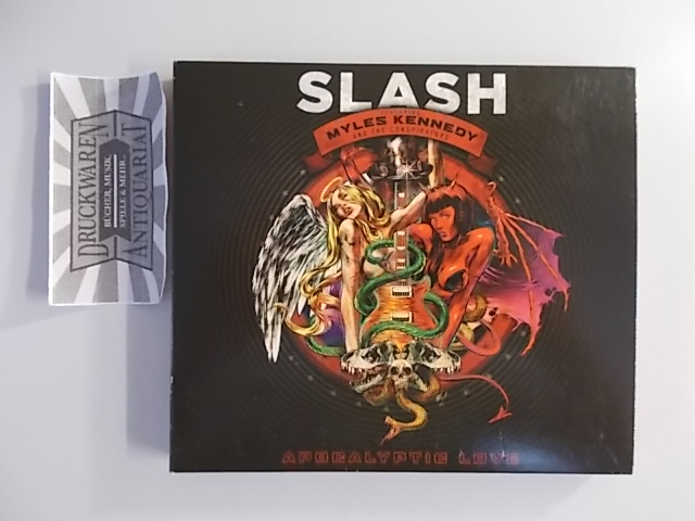 Slash and Myles Kennedy: Apocalyptic Love [1 Audio-CD,1 DVD].