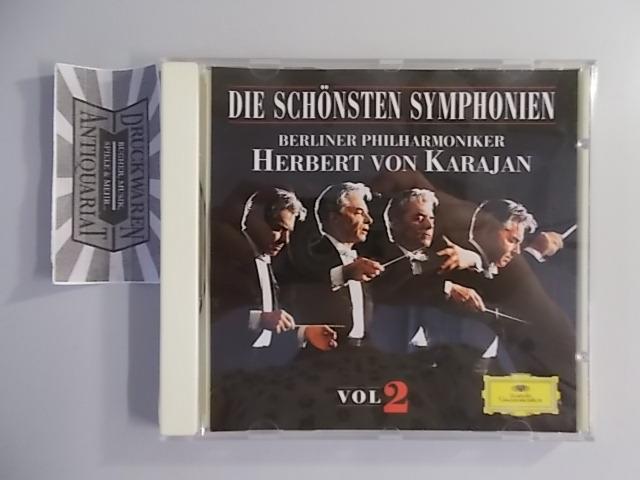 Karajan, Herbert von und Berliner Philharmoniker: Die schönsten Symphonien Vol. 2 [Audio-CD].