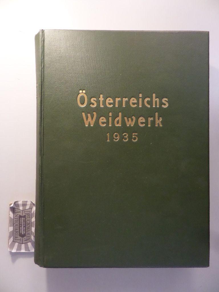 Österreichs Weidwerk - 8. Jahrgang 1935.