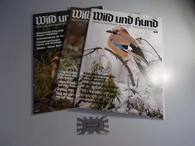 Wild und Hund - 85. Jahrgang 1983 Nr. 24-26 [3 Hefte].