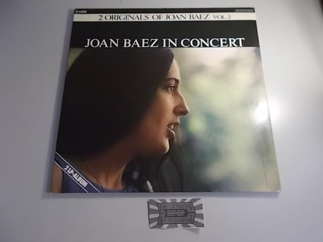 2 Originals of Joan Baez Vol.2 - Joan Baez in Concert [Vinyl, Doppel-LP,  134 CRY 62250/51].