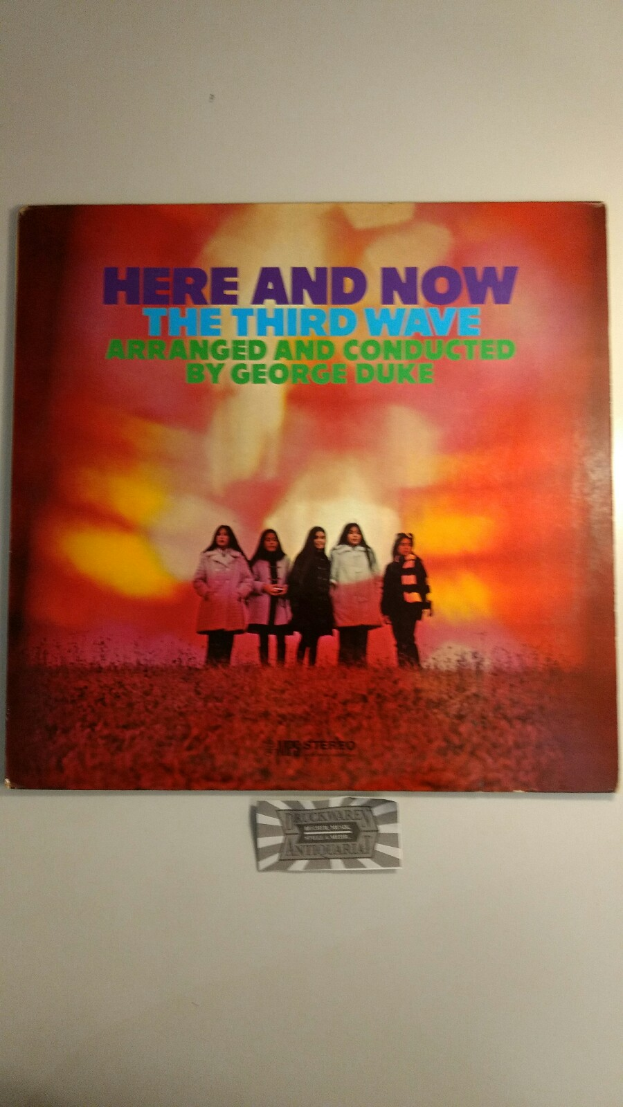 The Third Wave and George Duke [Arr.]: Here and Now [Vinyl, LP, MPS 14 263 ST].