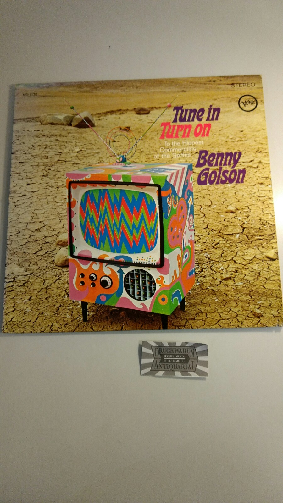 Golson, Benny: Tune in, Turn on - To the Hippest Commercials of the Sixties [Vinyl, LP, V/V6-8710].