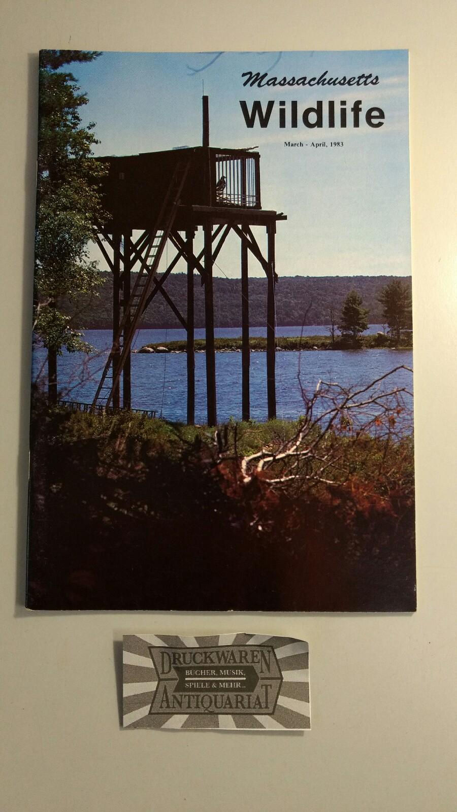 Cronin, Richard [Red.]: Massachusetts Wildlife - Vol. XXXIV - March-April 1983 No.1.