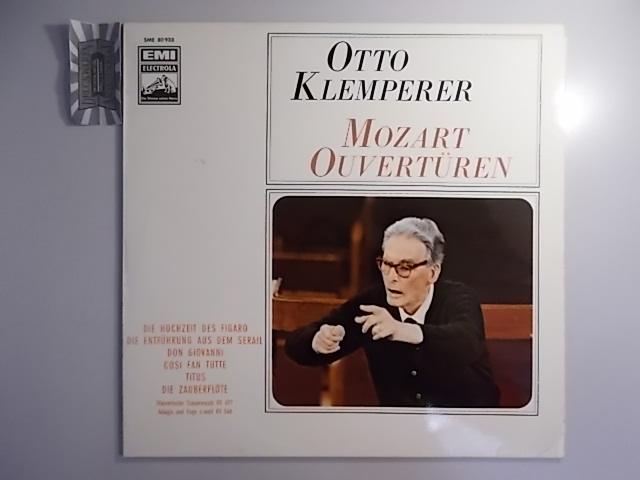 Klemperer : Mozart Overtüren [Vinyl, LP, SME 80 933].
