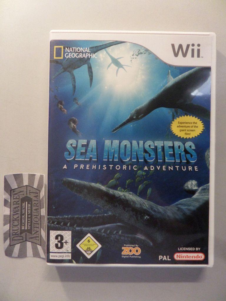 Sea Monsters - A Prehistoric Adventure [Wii].