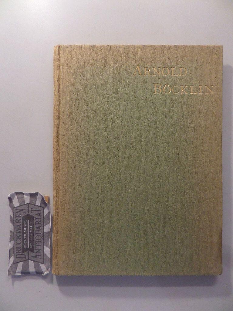 Lehrs, Max: Arnold Böcklin. Ein Leitfaden zum Verständnis seiner Kunst.