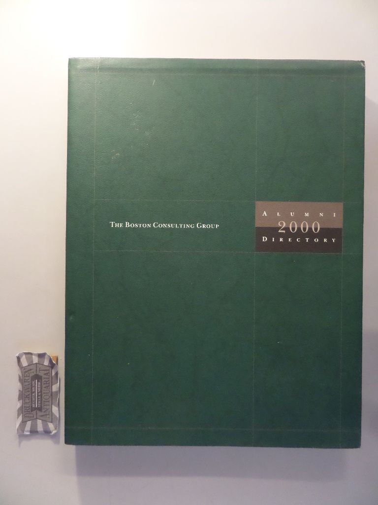 The Boston Consulting Group Alumni 2000 Directory.