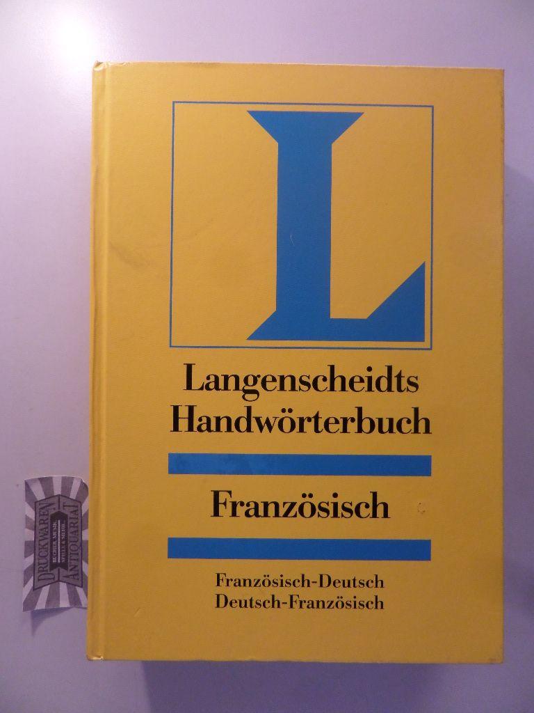 Langenscheidts Handwörterbuch Französisch. Neubearb.