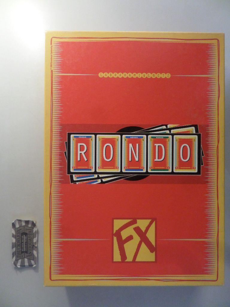 FX 273393: Rondo [Kartenspiel].