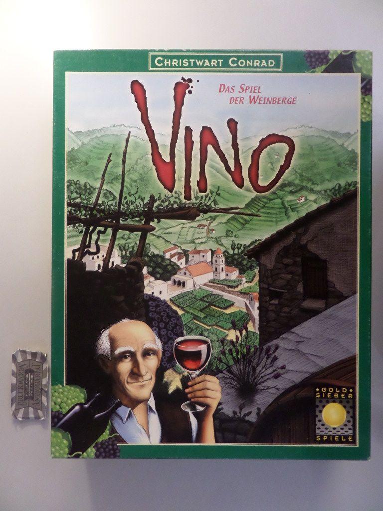 Conrad, Christwart: Goldsieber 6189655: Vino. Das Spiel der Weinberge [Brettspiel].