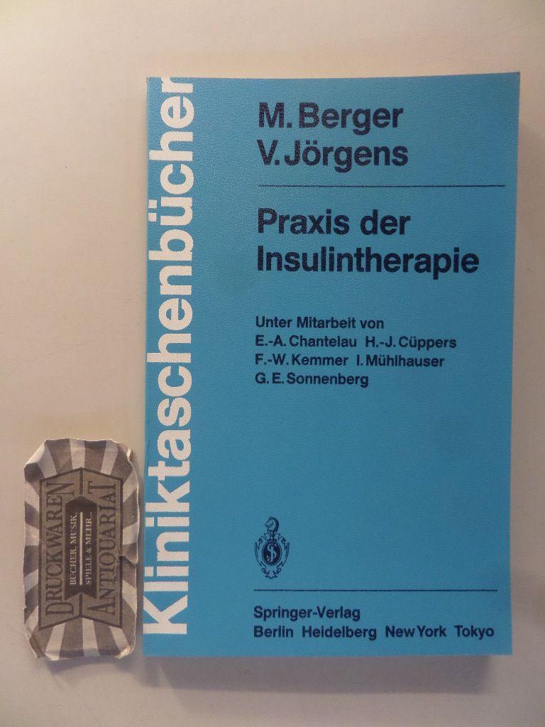 Praxis der Insulintherapie. (Kliniktaschenbücher).