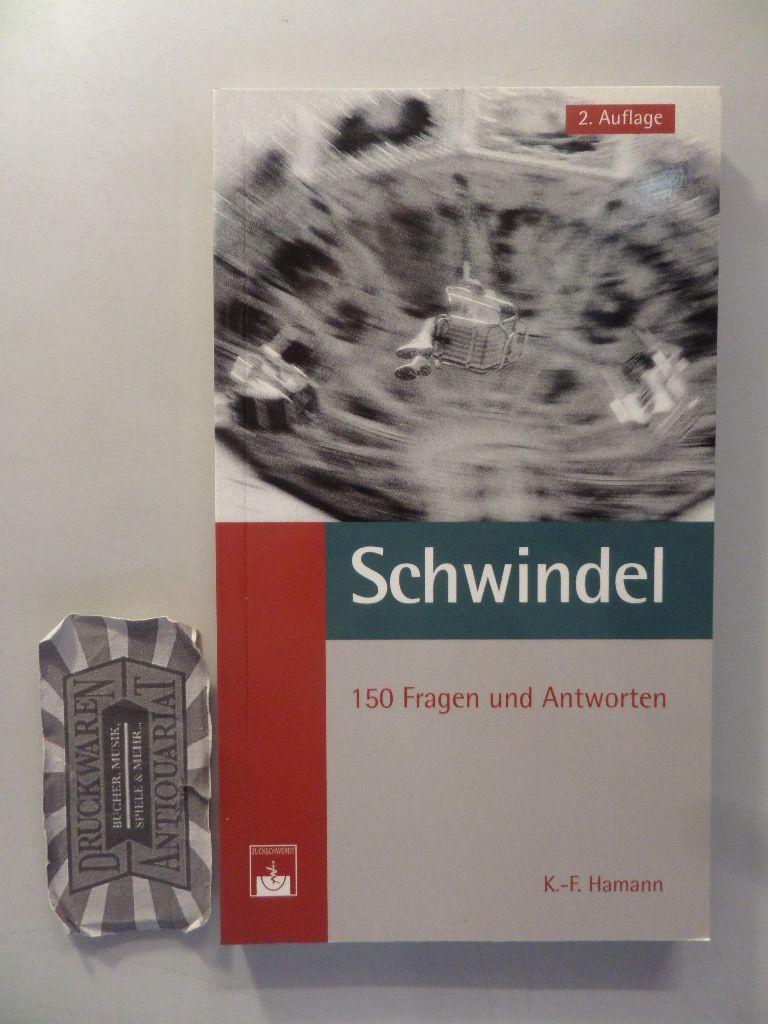Schwindel. 150 Fragen und Antworten. 2. Aufl.