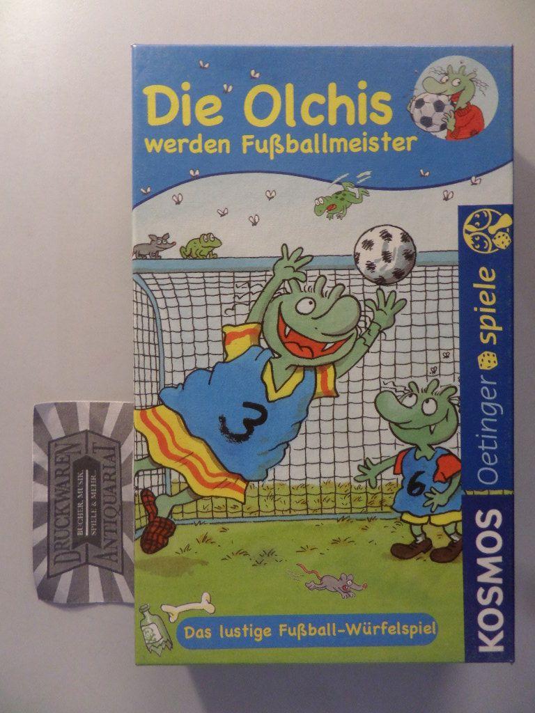 KOSMOS 680626: Die Olchis werden Fuballmeister [Würfelspiel]. Das lustige Fußball-Würfelspiel.