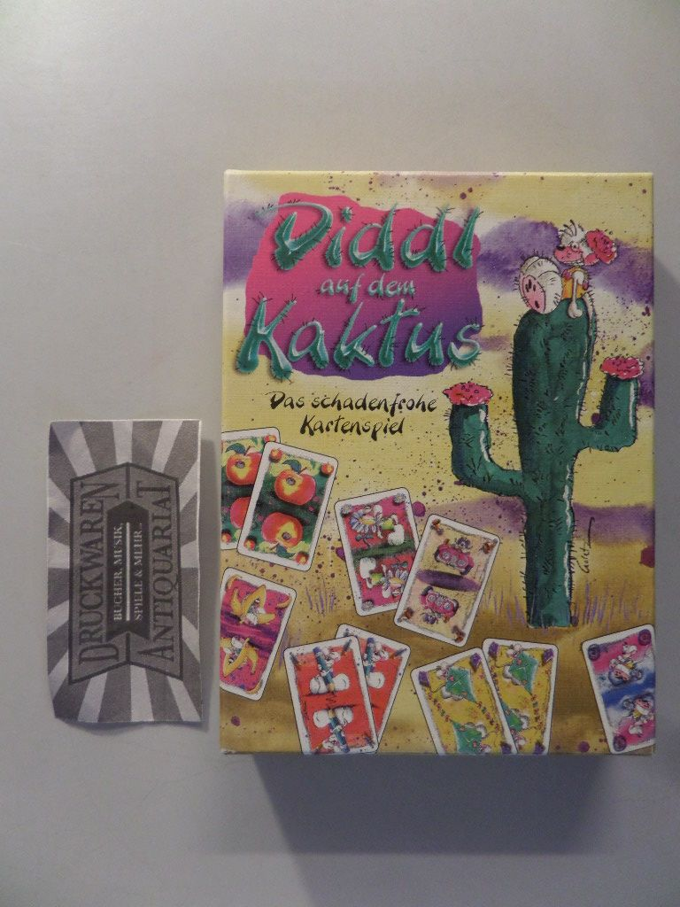 Diddl auf dem Kaktus. Das schadenfrohe Kartenspiel [Kartenspiel].