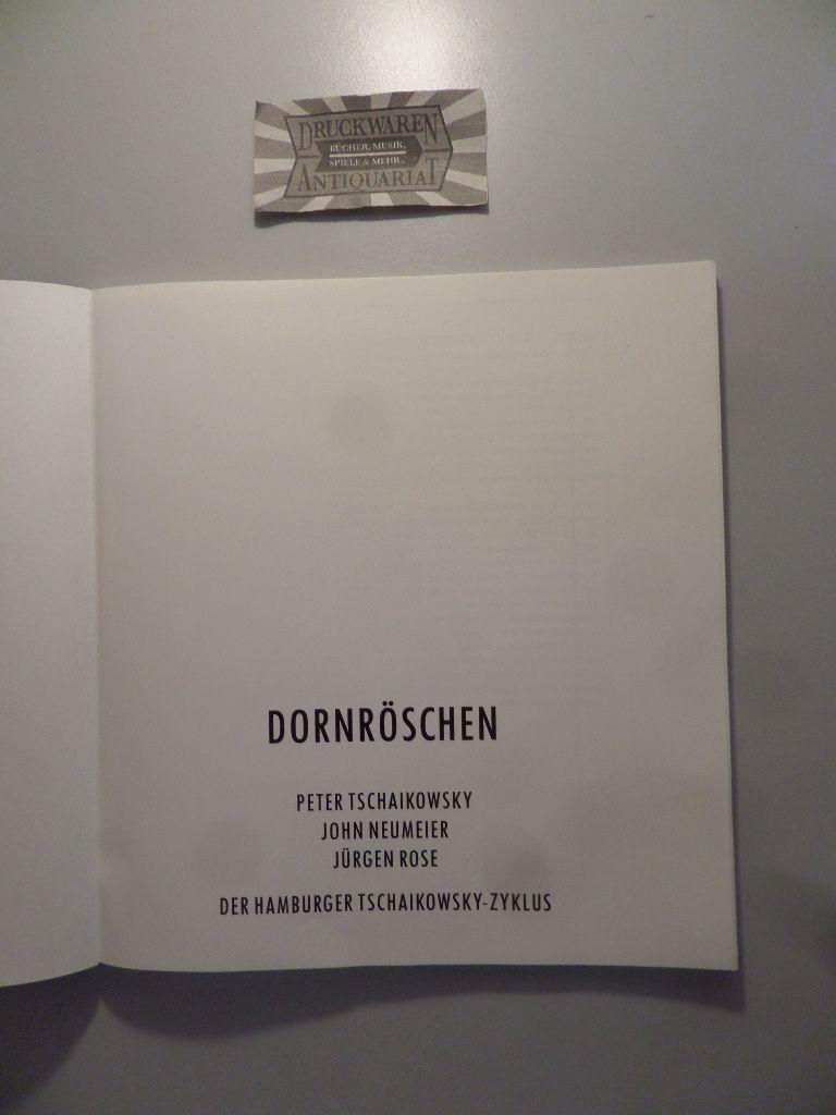 Programmheft zu Dornröschen, Ballett von John Neumeier, Wiederaufnahme am 5. Dezember 1987