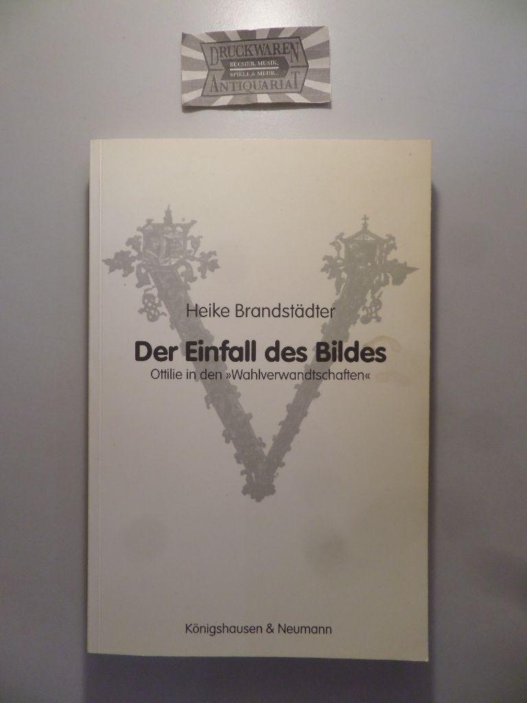 """Der Einfall des Bildes. Ottilie in den """"Wahlverwandtschaften"""". (Epistemata. Würzburger wissenschaftliche Schriften. Reihe Literaturwissenschaft. Band 314)."""