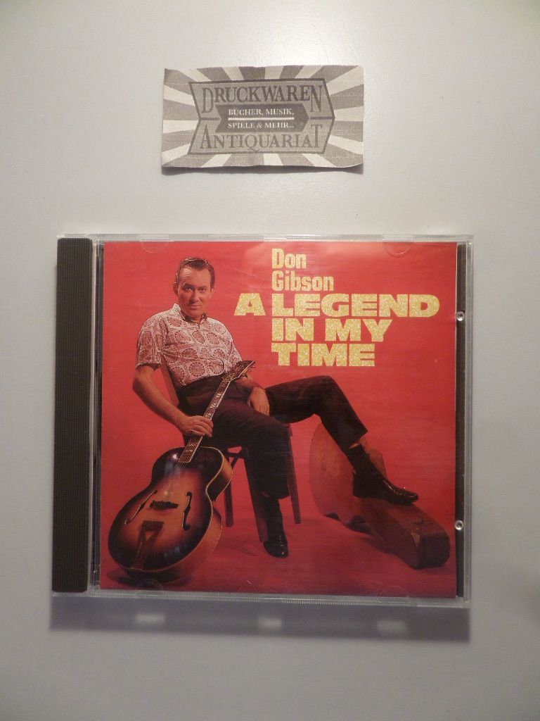 Don, Gibson: A Legend in My Time [1 Audio CD].