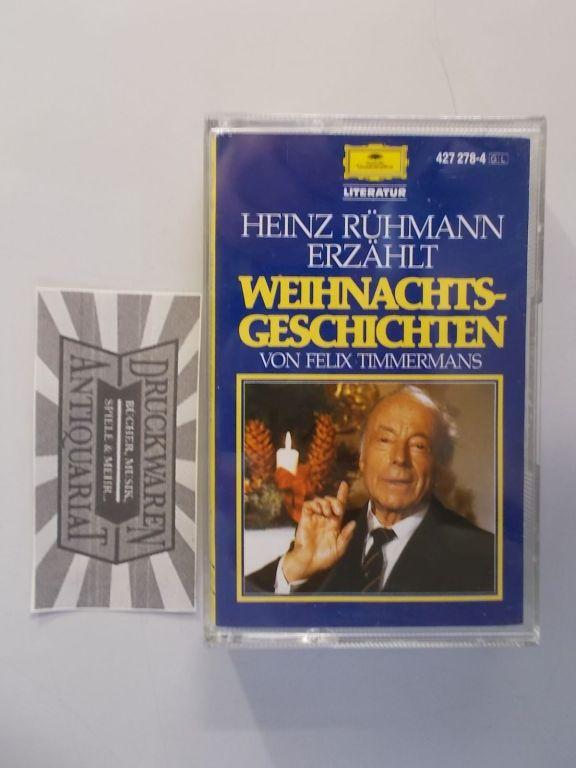 Rühmann, Heinz: Weihnachtsgeschichten [Hörkassette].