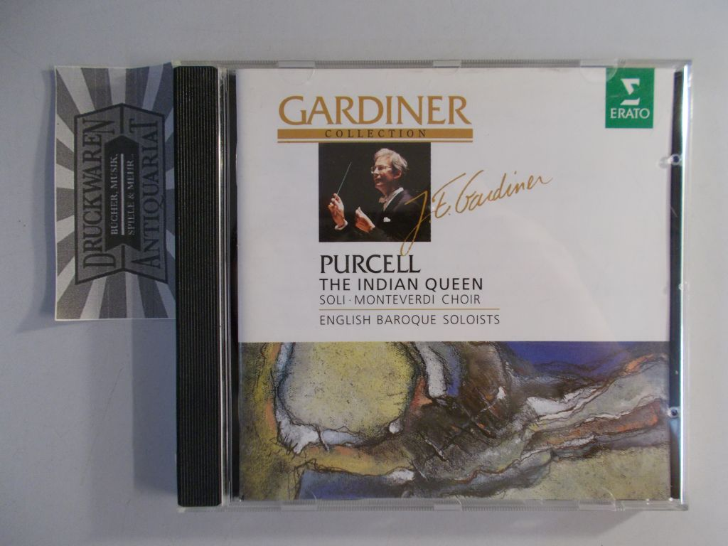 Henry Purcell: The Indian Queen [Audio CD]. Gardiner Collection.