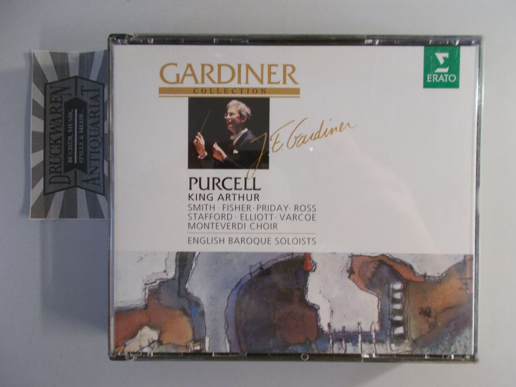 Henry Purcell: King Arthur [2 Audio CDs]. Gardiner Collection.