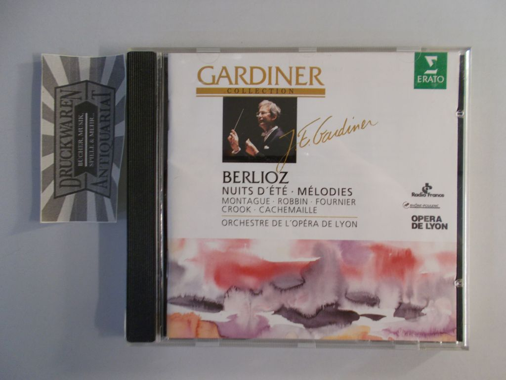 Berlioz: Melodies, Nuits d