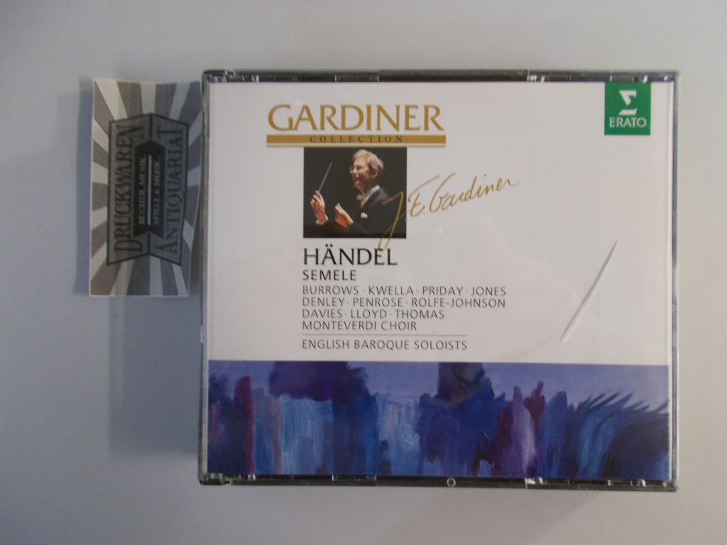 Händel: Semele [2 Audio CDs]. Gardiner Collection.