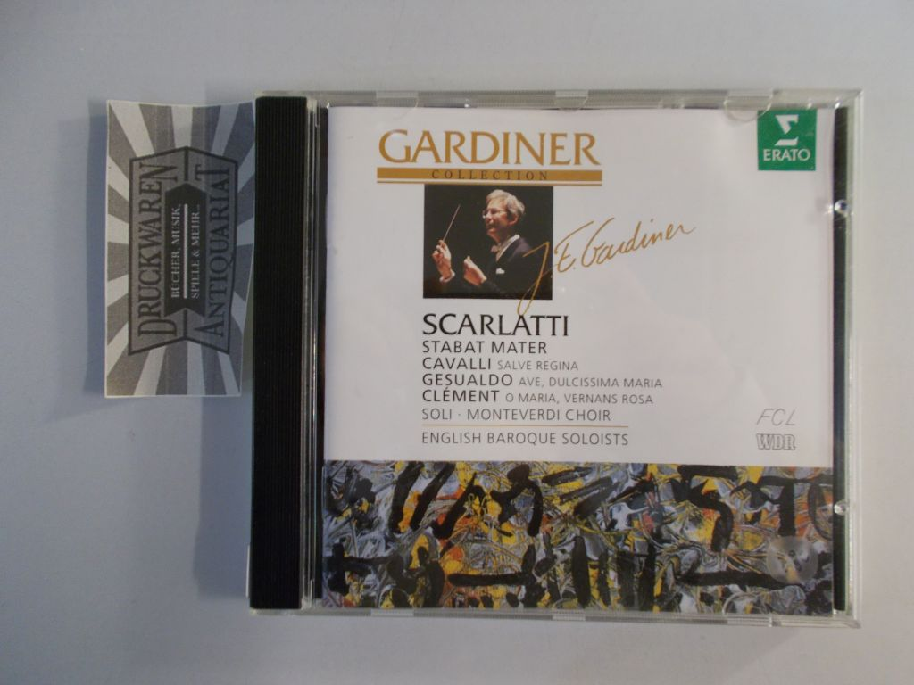 Scalatti: Stabat Mater [Audio CD]. Gardiner Collection.