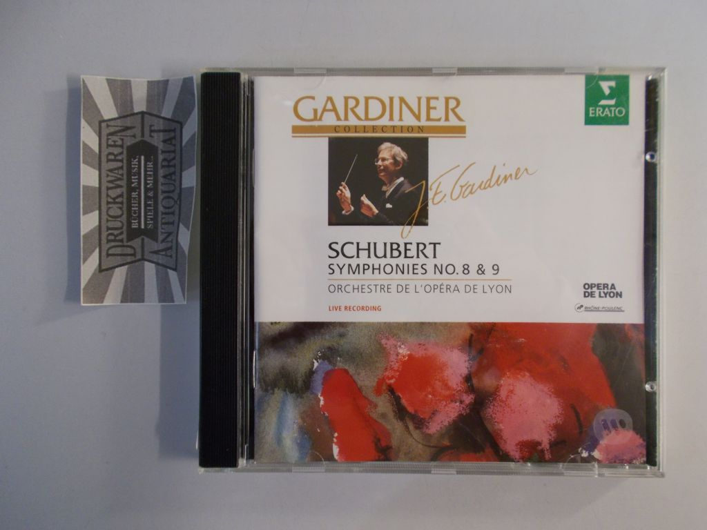 Schubert: Sinphonies No. 8 & 9 [Audio CD]. Gardiner Collection.