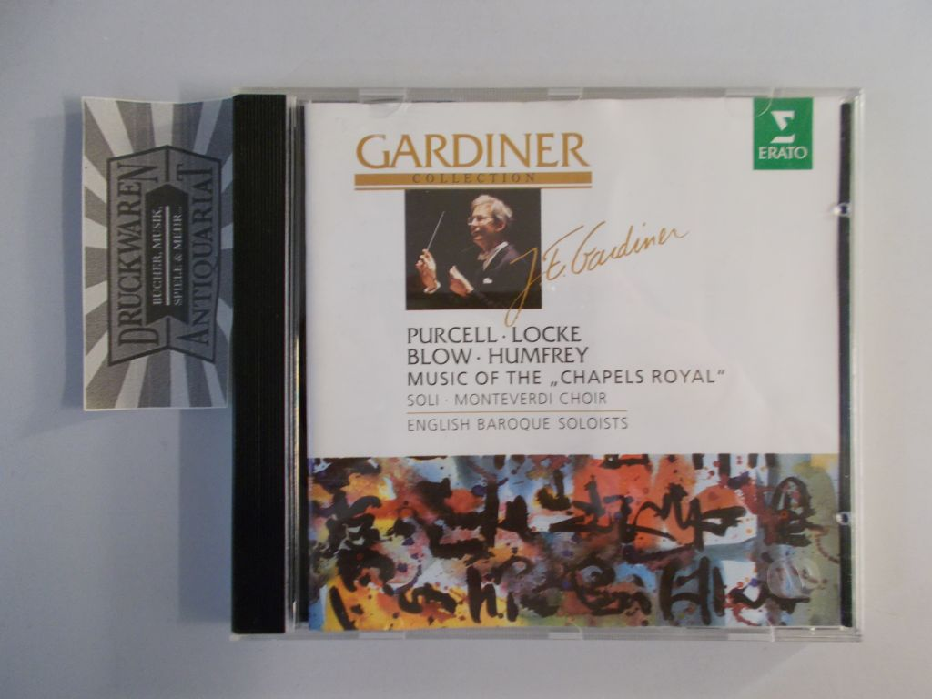 "Purcell, Locke, Blow & Humfrey: Music of the ""Chapels Royl"" [Audio CD]. Gardiner Collection."