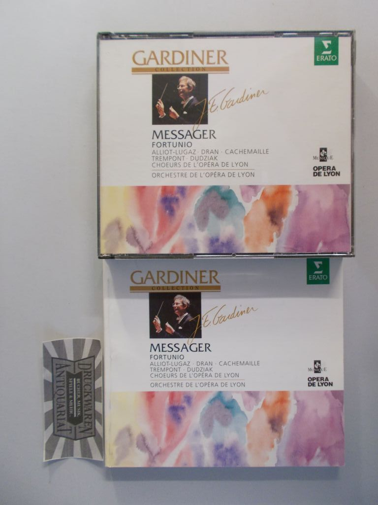 Messager: Fortunio [2 Audio CDs]. Gardiner Collection.